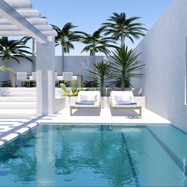 piscina agua mar